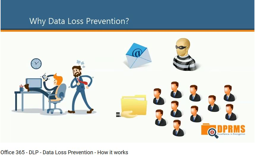 הגדרות DLP 	Data Loss Prevention